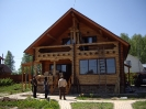Дом из оцилиндрованного бревна в Чехове :: Дом из оцилиндрованного бревна в Чехове