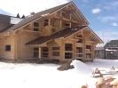 Дом из оцилиндрованного бревна диаметром 260 мм