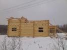 Дом из профилированного бревна в Московской обл. :: Дом из профилированного бревна диаметром 240 мм.